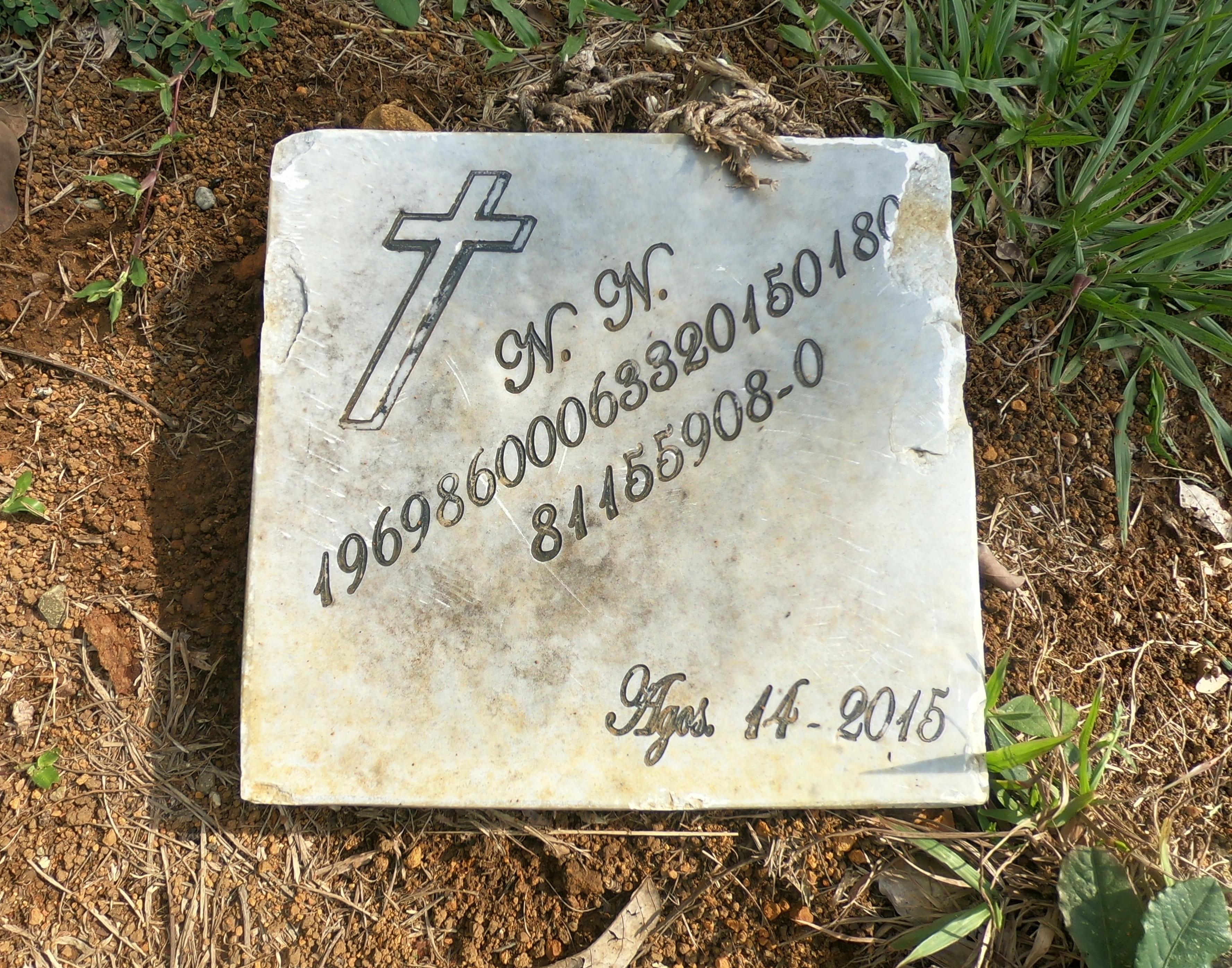 El Cementerio de Marsella cuenta con más de 350 personas no identificadas. Hasta la fecha se ha hecho una comisión para la identificación de los cuerpos. Foto por: Álvaro Avendaño